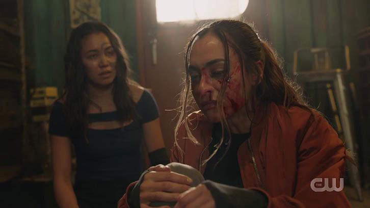 Raven (Lindsey Morgan) muss mit den Konsequenzen ihrer Entscheidung leben. The CW