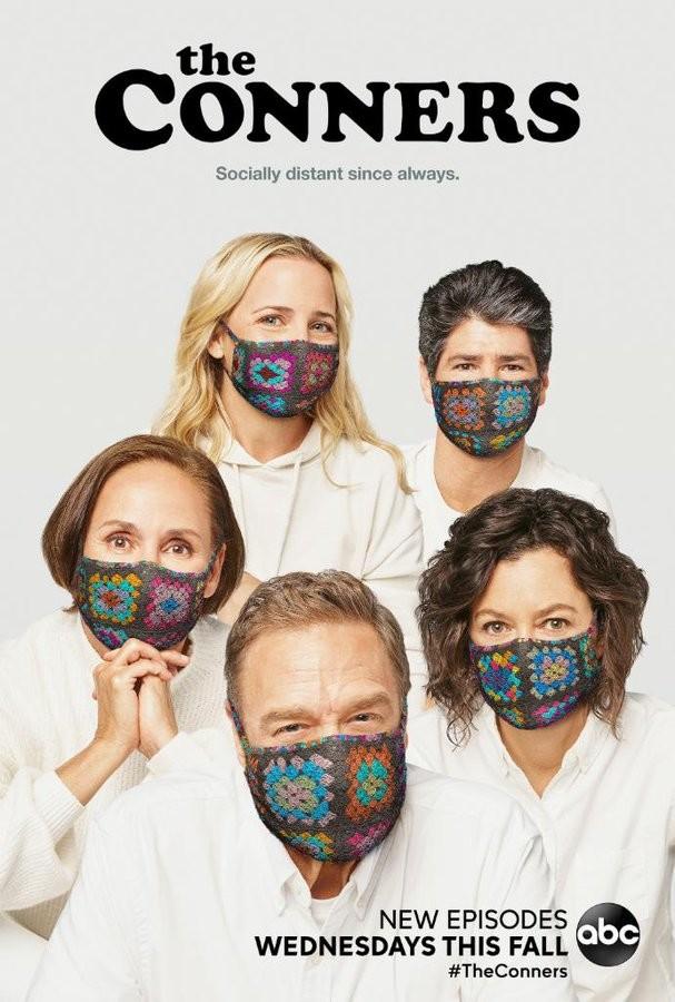 """Poster zur dritten Staffel von """"Die Conners"""" ABC"""