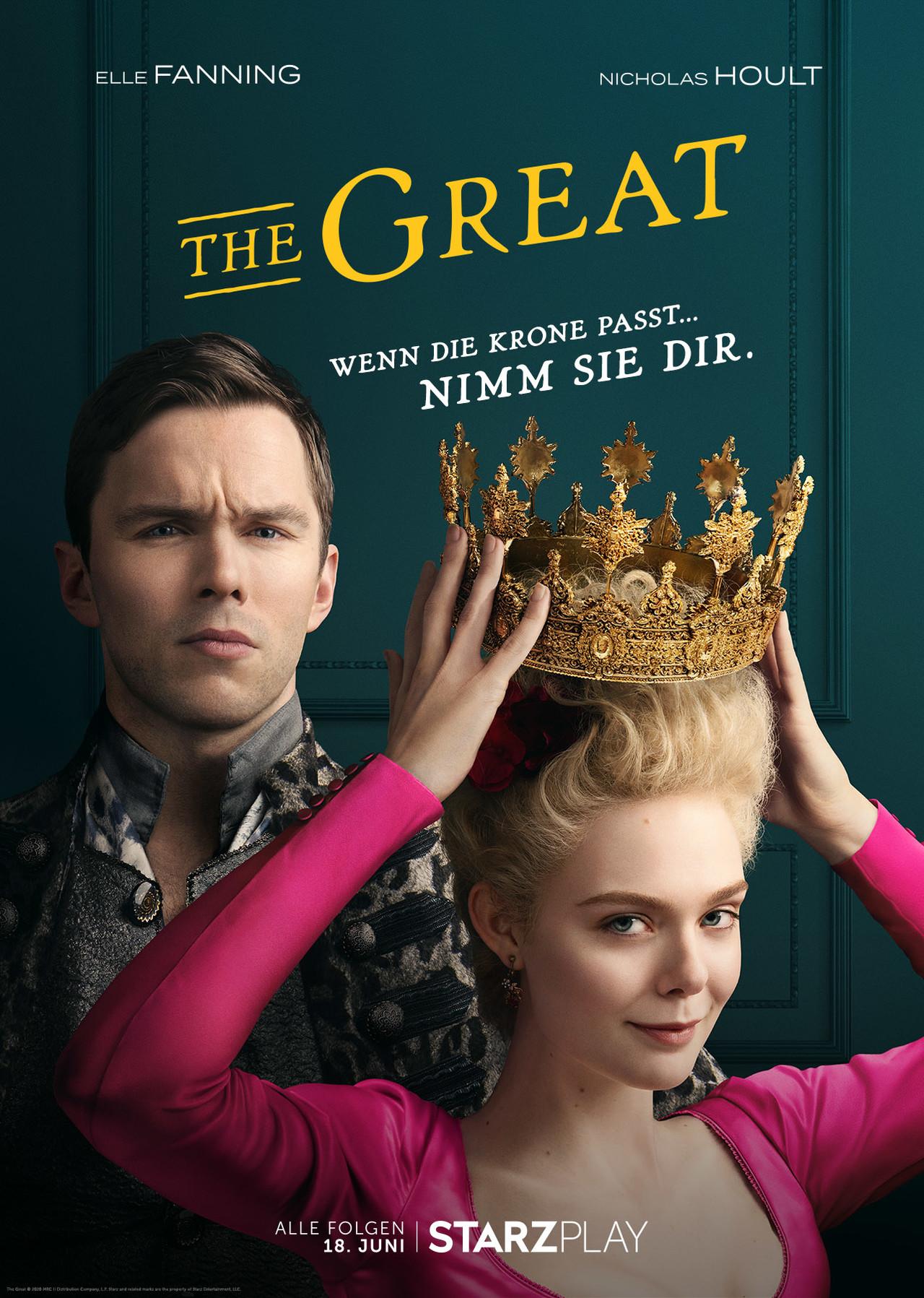 """""""The Great"""" kommt am 18. Juni nach Deutschland Starzplay"""