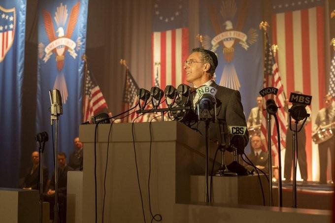 Der Geistliche im Zentrum der Politik: John Turturro als Rabbi Lionel Bengelsdorf. HBO
