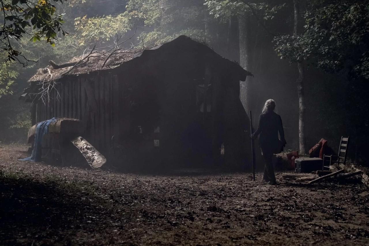 Carol (Melissa McBride) kann nicht länger davonlaufen. AMC