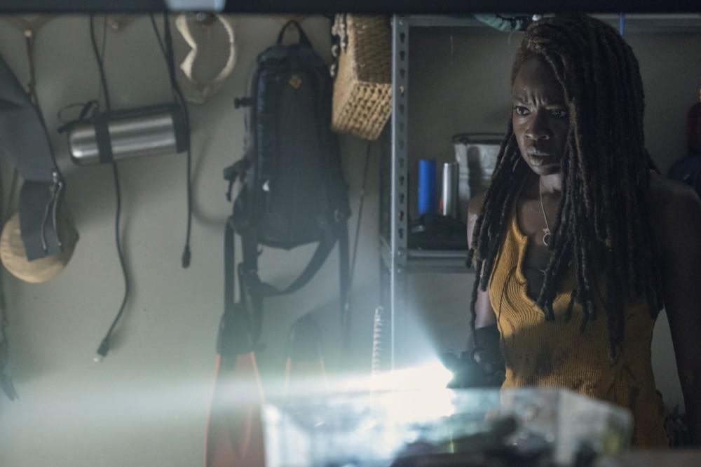 Michonne (Danai Gurira) findet Hinweise auf Ricks Überleben. AMC