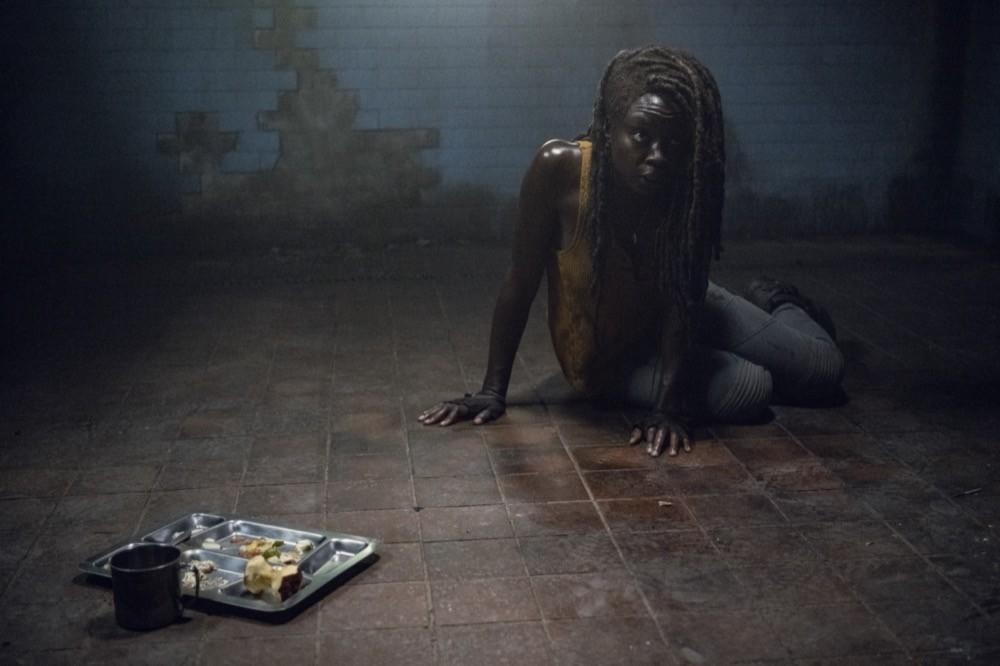Michonne (Danai Gurira) sitzt in der Falle. AMC