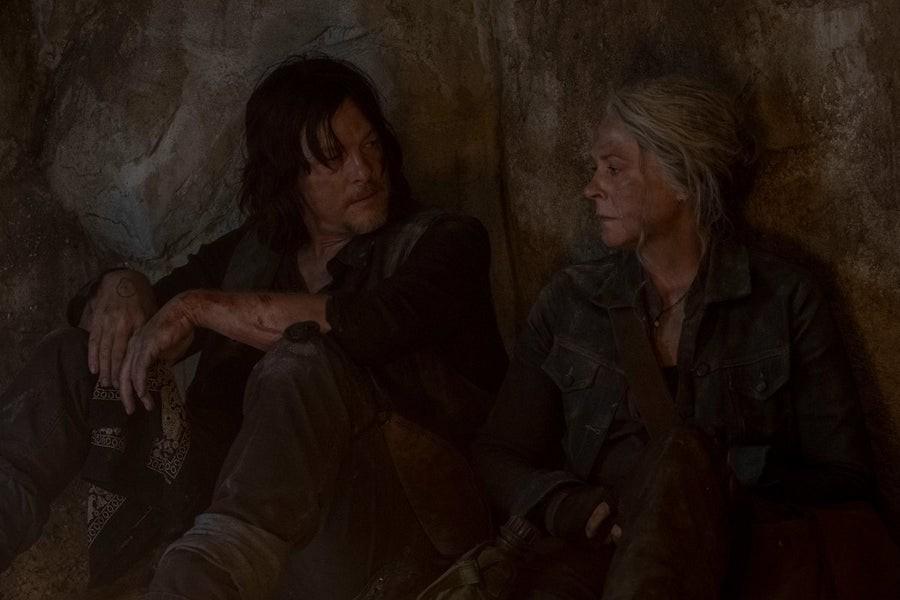 Daryls (Norman Reedus) Vertrauen zu Carol (Melissa McBride) wird auf eine harte Probe gestellt. AMC