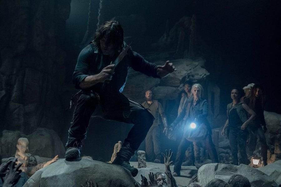 Der Weg durch die Höhle ist voller Gefahren. AMC