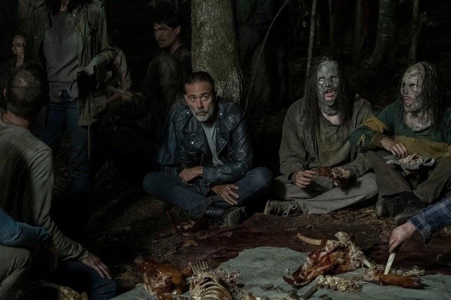 Negan (Jeffrey Dean Morgan) hat Gamma durchschaut. AMC