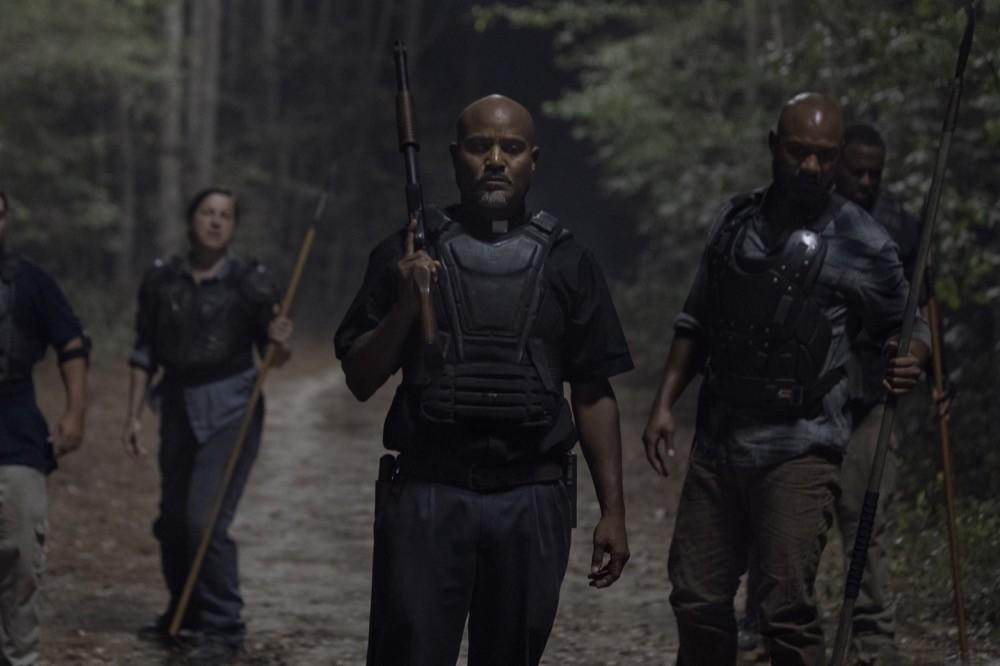 Gabriel (Seth Gilliam) findet nicht wonach er sucht. AMC