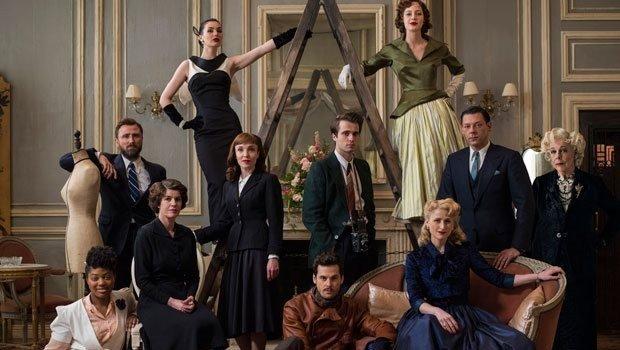 """Der umfangreiche Cast der Serie """"The Collection"""""""