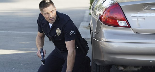Officer Tim Bradford (Eric Winter) – mal wieder – unter Feuer. Aber er würde es auch gar nicht anders haben wollen.