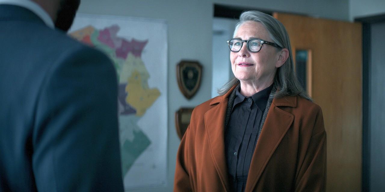 """Cherry Jones als Anwältin Joanna Klein in """"Verschwiegen"""". Apple TV+"""