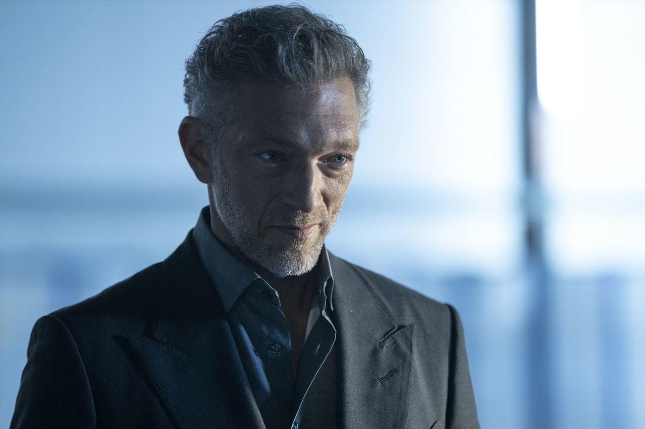 Serac (Vincent Cassel) hält die Fäden in der Hand.HBO