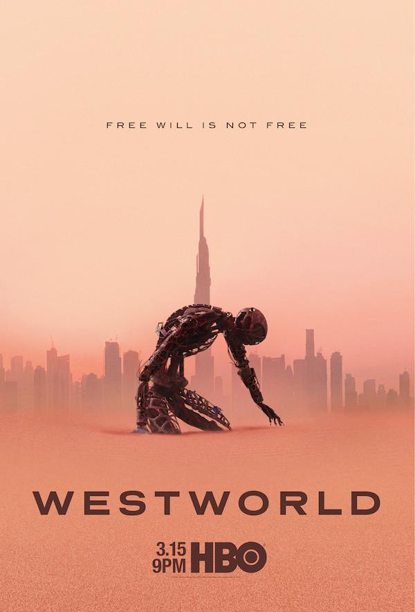"""Poster zur dritten Staffel von """"Westworld"""" HBO"""