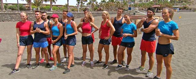"""RTL-Zwei-Nachmittagsflop Nummer 3: War die erste Staffel von """"Workout – Muskeln, Schweiß & Liebe"""" 2018 noch einer der wenigen Lichtblicke, ging die geskriptete Doku-Soap diesmal völlig unter. Nur wenige Zuschauer interessierten sich für die Leistungssportler, die sich einem Wettbewerb auf Fuerteventura stellten, um auf der Insel einen Job als Personal Trainer zu ergattern. Nachdem der Zielgruppen-Marktanteil auf zwei Prozent gerutscht war, landete das Format vorzeitig auf dem Abstellgleis.Bild: RTL Zwei"""