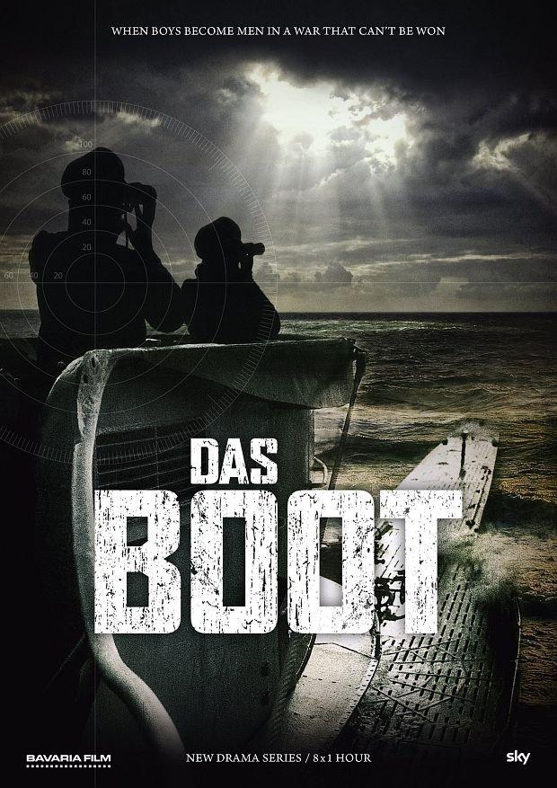 "Teaser-Poster zur TV-Serie ""Das Boot""Bild: Sky/Bavaria Film"