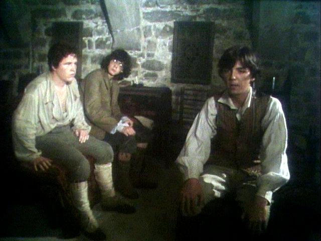 Kurze Verschnaufpause: Die Drei finden Unterschlupf in einem Schloss. Koch Media