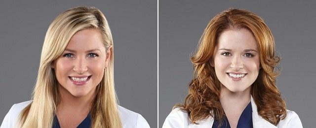 """Deutlich öffentlicher durch die Schlagzeilen ging die Tatsache, dass """"Grey's Anatomy"""" im Frühjahr die beiden langjährigen Darstellerinnen Jessica Capshaw und Sarah Drew aus der Serie verabschieden würde. Während die Macher der Meinung waren, dass man halt immer wieder neue Figuren für neue Geschichten bräuchte und das ein recht normaler Vorgang sei, waren weder die Fans noch die Darstellerinnen über den verordneten Abschied erfreut. ABC"""