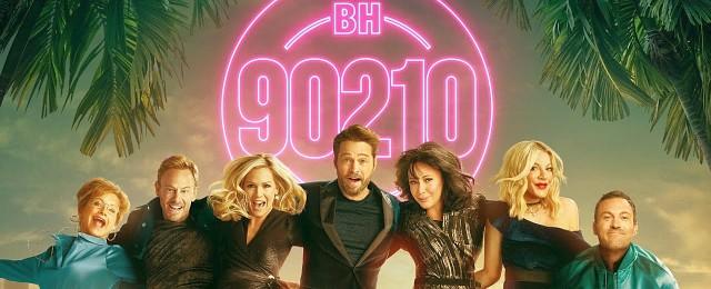 """Auch die Idee zur """"Meta-Serie"""" """"BH90210"""" ist und bleibt ziemlich abstrus: Ein fiktionales Projekt, das als Revival-Serie die Darsteller von """"Beverly Hills, 90210"""" zusammenbringt, die ein Revival ihrer Serie wollen…Bild:"""