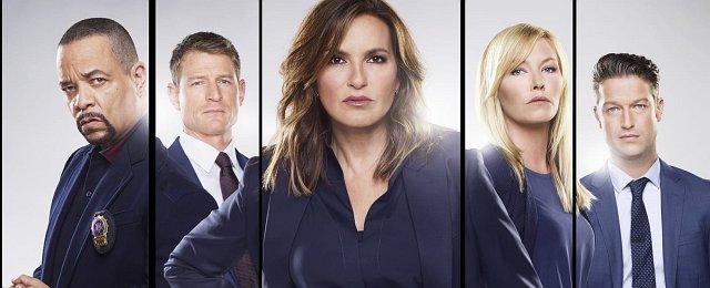 """Im Herbst 2019 konnte sich """"Law & Order: SVU"""" die Krone als """"alleinige, staffelreichste Dramaserie"""" sichern, als das Format von Dick Wolf in seine 21. Staffel ging – und die Mutterserie """"Law & Order"""" sowie """"Rauchende Colts"""" übertraf. Auch Mariska Hargitay stellte dabei in der Rolle als Olivia Benson einen ähnlichen Rekord auf – und strafte alle Unkenrufe Lügen, die mit dem Ausstieg von Christopher Meloni nach Staffel zwölf die Serie am Ende sahen. Bild: NBC"""