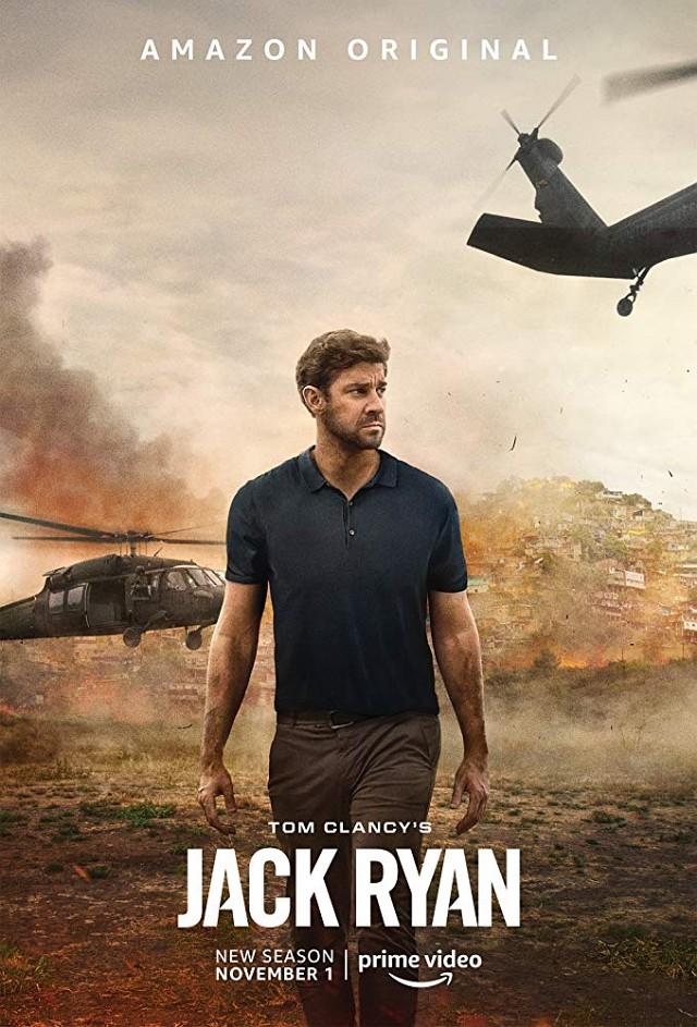 """Poster zur zweiten Staffel von """"Tom Clancy's Jack Ryan"""" Prime Video"""