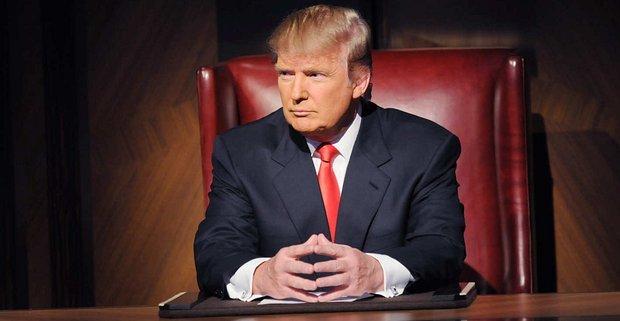 "Donald Trump als Moderator von ""The Apprentice""NBC"