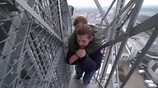 Joko und Klaas besteigen den Berliner Funkturm. ProSieben