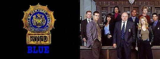 """Die Besetzung der elften Staffel von """"N.Y.P.D. Blue"""".20th Century Fox Television"""