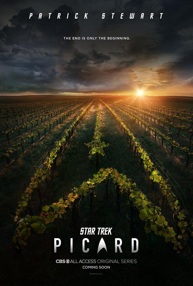 """Poster zu """"Star Trek: Picard"""" CBS All Access"""