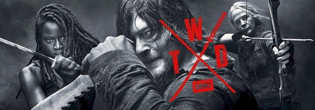 """Die Key-Art zur zehnten Staffel von """"The Walking Dead"""" AMC"""