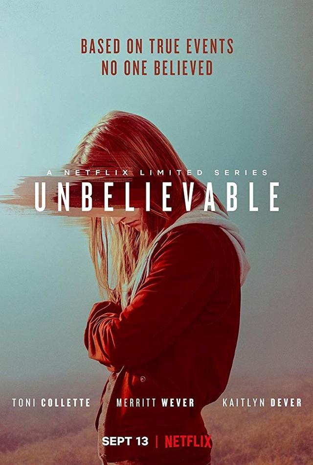 "Poster zur Netflix-Serie ""Unbelievable"" Netflix"