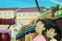 Cyrus und Anna sind auf der Flucht vor Neros Soldaten. – Bild: ZDF/Sheperd Film Dublin