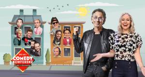 Die Sat.1 Comedy Konferenz - Promis in Quarantäne – Bild: Sat.1