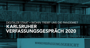 Karlsruher Verfassungsgespräch – Bild: Phoenix