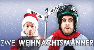 Zwei Weihnachtsmänner – Bild: Sat.1/Kai Schulz