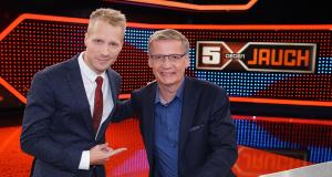 5 gegen Jauch – Bild: TVNOW/Stefan Gregorowius