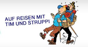 Auf Reisen mit Tim und Struppi – Bild: arte