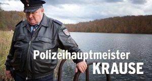Polizeihauptmeister Krause – Bild: rbb/Arnim Thomaß