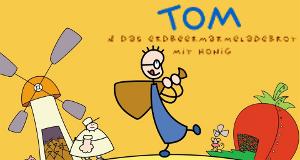 Tom und das Erdbeermarmeladebrot mit Honig – Bild: SWR/Hykade