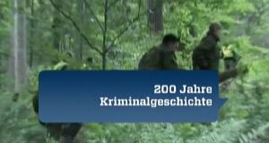 Dem Verbrechen auf der Spur – 200 Jahre Kriminalgeschichte – Bild: ZDF