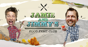 Jamie and Jimmy's Food Fight Club – Bild: Channel 4
