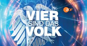 Vier sind das Volk - Die Polit-Impro – Bild: ZDF/Agentur Alpenblick