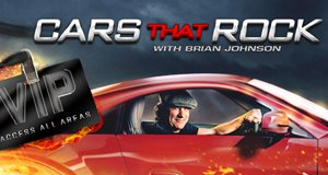 Cars That Rock mit Brian Johnson