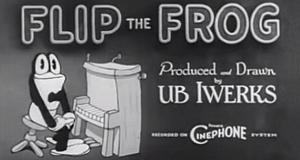 Flip der Frosch – Bild: Ub Iwerks