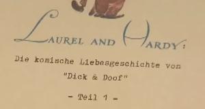 Laurel und Hardy – Die komische Liebesgeschichte von Dick und Doof – Bild: ZDF/arte