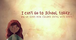 Ich kann heute nicht in die Schule gehen – Bild: BBC