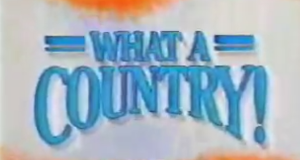 What a Country! – Bild: CBS Television