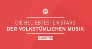 Die 30 beliebtesten Stars der volkstümlichen Musik – Bild: rbb
