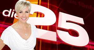 Die 25… – Bild: RTL/Stephan Pick