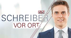 Schreiber vor Ort – Bild: n-tv