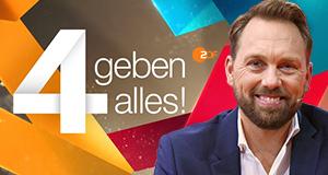 4 geben alles! – Bild: ZDF/Sascha Baumann