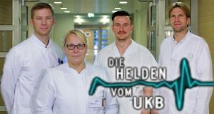 Die Helden vom UKB – Bild: Sat.1